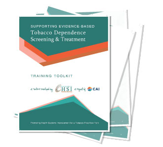 Evidence-Based Tobacco Dependence Screening & Treatment - Medical Training Toolkit