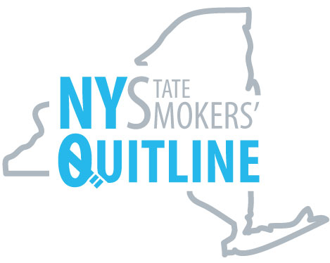 New York State Smokers' Quitline logo